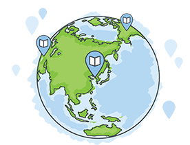 지금 216개국에서 200만명이 리디북스로 전자책을 읽고 있습니다.